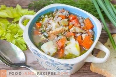 Buckwheat Chicken Soup