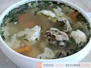 Cauliflower Soup in a Multivariate