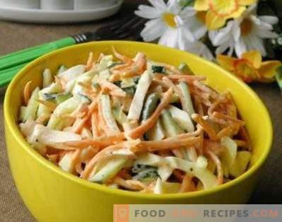 Smoked Chicken Salad with Korean Carrots