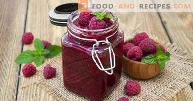 Raspberry in its own juice for the winter