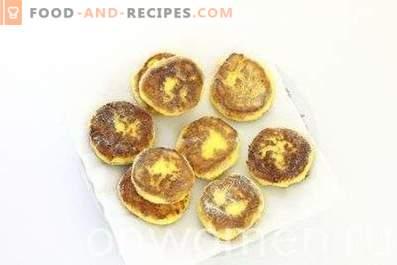 Cornmeal Cheesecakes