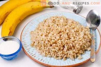 How to cook barley porridge