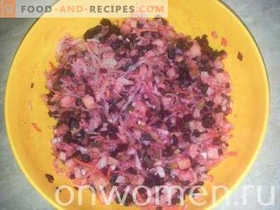 Vinaigrette with Sauerkraut