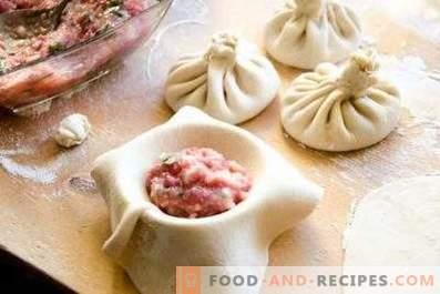 Dough for khinkali