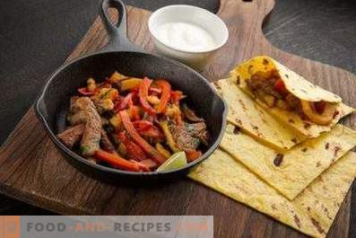 Beef Fajitos