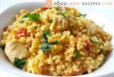 Bulgur with chicken