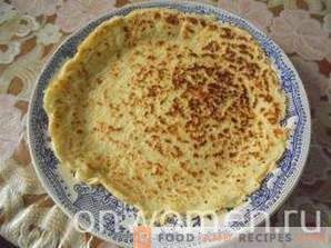 Dietary pancakes on kefir