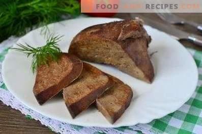 How to cook pork liver