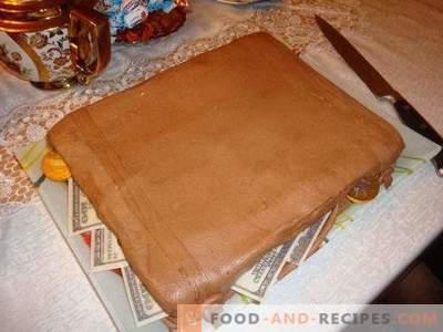 Chocolate marshmallow mastic