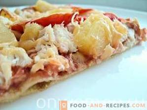 Chicken and Pineapple Pizza