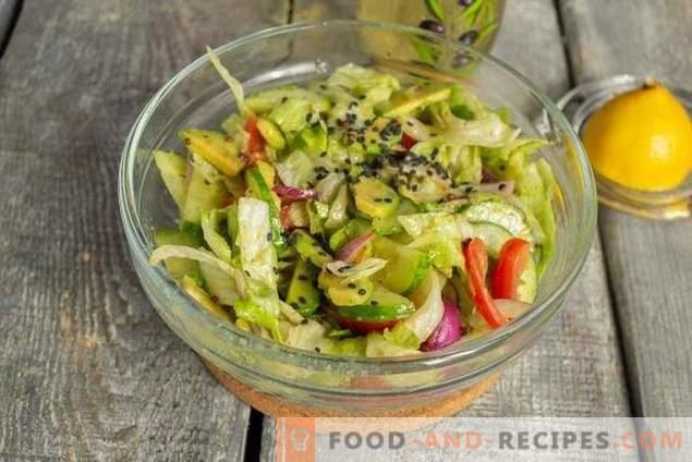 Lean Avocado Salad
