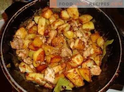 Pork stewed with potatoes