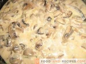 Mushroom Dried Mushroom Sauce