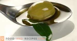 Caloric content of olive oil