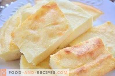 Cottage cheese casserole, as in kindergarten