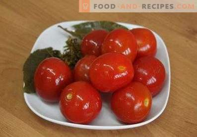 Instant salted tomatoes