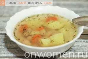 Canned Bean Soup in a Multicooker