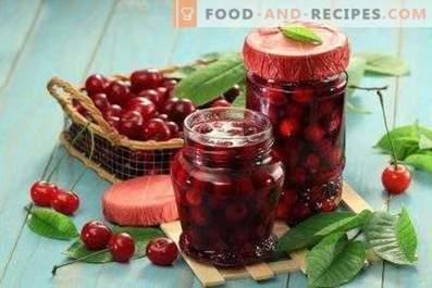 "Cherry jam ""Five minutes"""