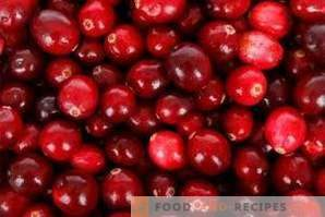 How to store cranberries
