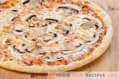Champignon Pizza