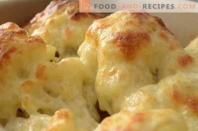 Cauliflower Casserole in the oven