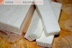Как се съхранява сиренето