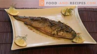 How to cook trout in a pan