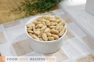 How to fry peanuts in the oven