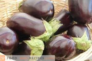 How to clean eggplants