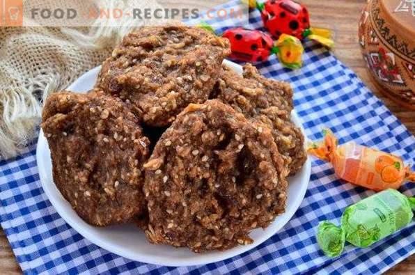 Oatmeal Cookies with Banana