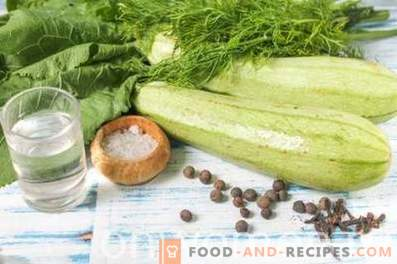 Fast Marinated Zucchini