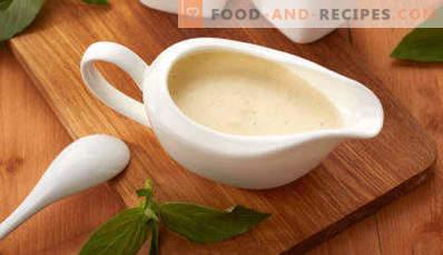 Creamy chicken sauce