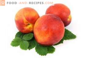 Peaches: health benefits and harm