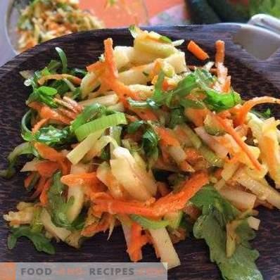 Kohlrabi Salads
