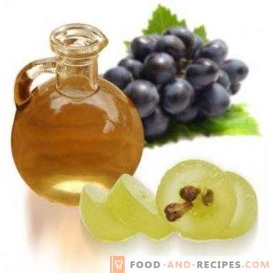 Grape seed oil: properties and uses