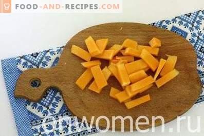 Pasta Casserole with Pumpkin