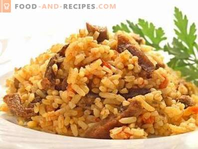 Pilaf with beef in a multicooker