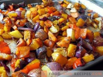 Vegetable stew in the oven