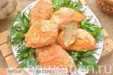 Lazy cabbage rolls with chicken