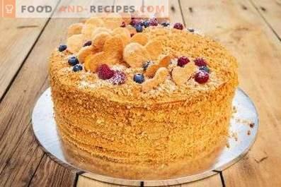 Ryzhik Cake