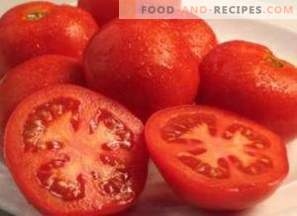 Calories of tomatoes