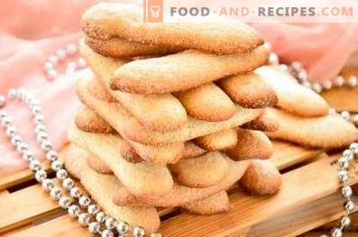Savoyardi Cookies