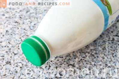 How to make cottage cheese from kefir