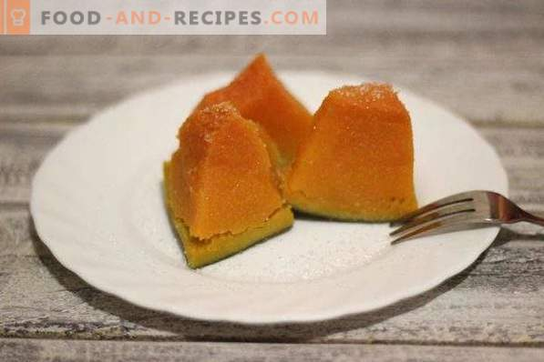 Steamed Pumpkin with Sugar
