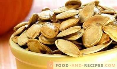 How to fry pumpkin seeds