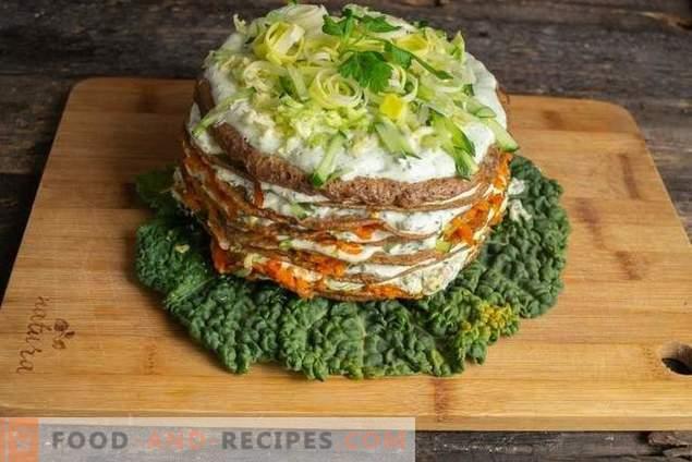 Delicate Chicken Liver Cake Snack