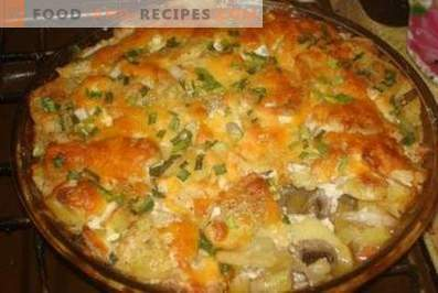 French Meat with Potatoes in the Oven