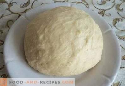 Dough on ryazhenka