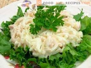 Squid Salad with Egg