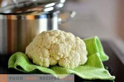 Cauliflower: health benefits and harm